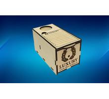 Lash Box деревянный 2в1 лэшбокс-подставка с  планшетами