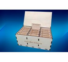Lash Box деревянный на 15 планшетов